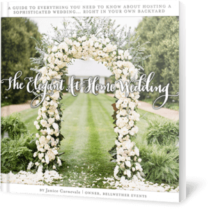 The Elegant At-Home Wedding Ebook by Janice Carnevale