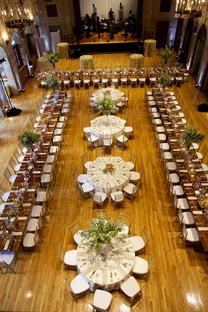 17 Catholic ceremony Saint Francis Hall wedding reception by top DC planner Bellwether Events