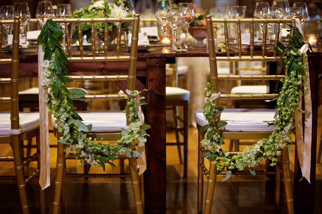 22 Catholic ceremony Saint Francis Hall wedding reception by top DC planner Bellwether Events