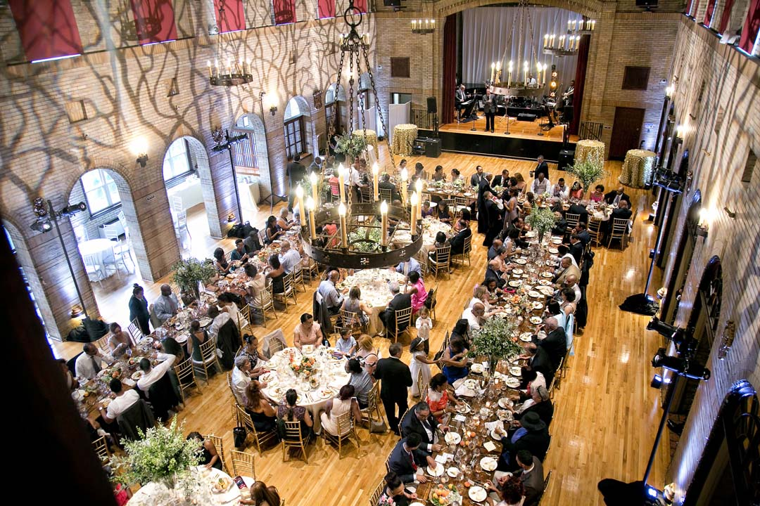 27 Catholic ceremony Saint Francis Hall wedding reception by top DC planner Bellwether Events