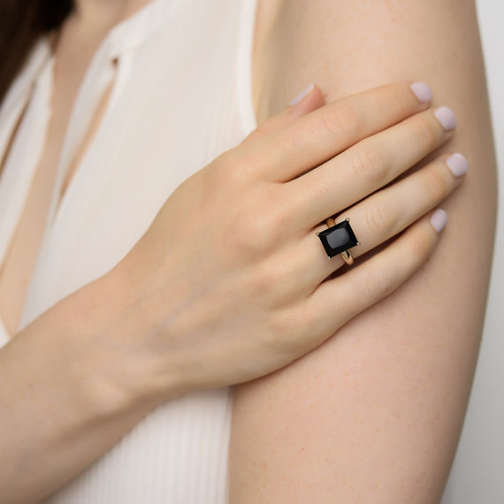 black-onyx-engagement-ring