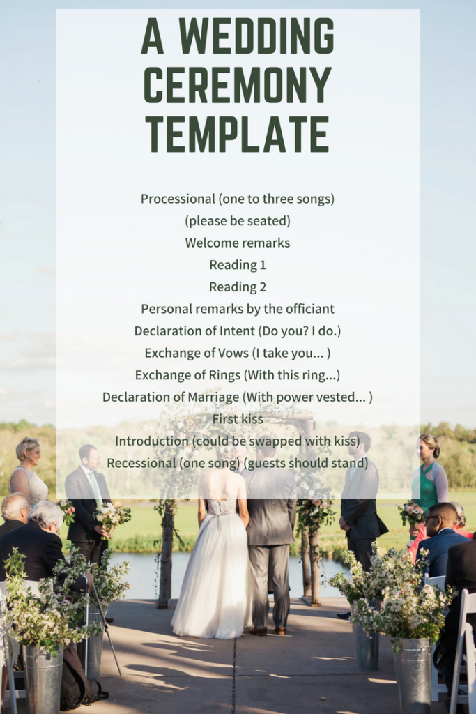 How To Write Your Own Wedding Ceremony Script