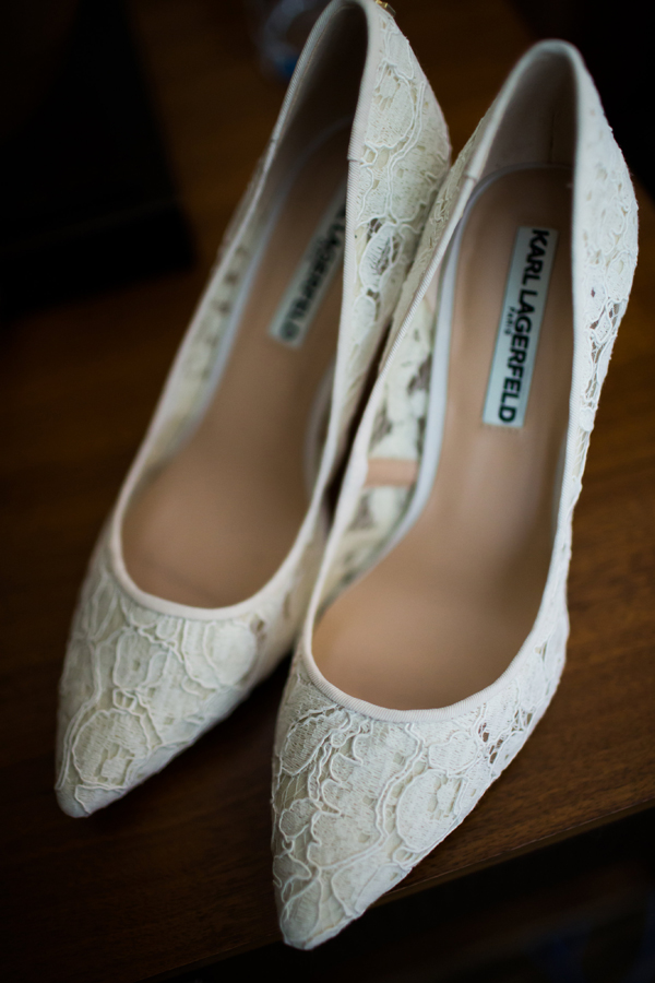 Baltimore Museum Wedding bridal shoes