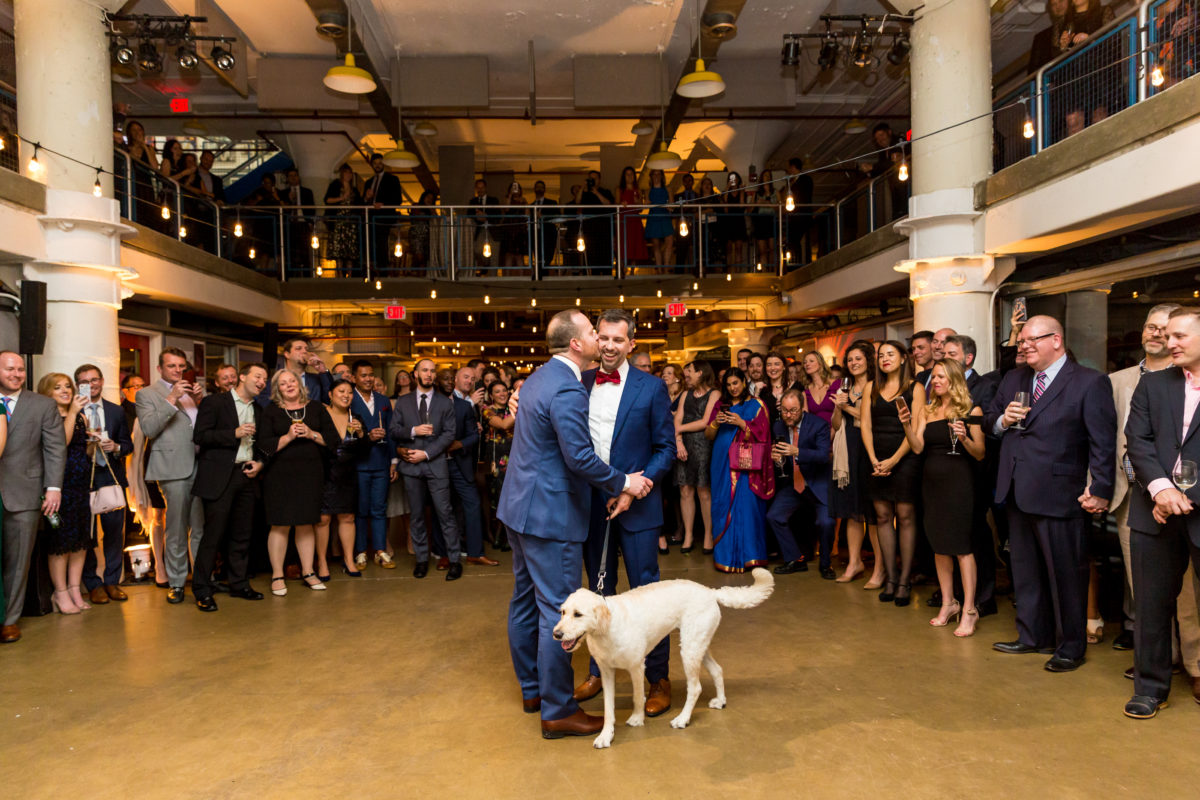 Torpedo Factory Wedding – Bellwether Events – Virginia event planner 33 first dance