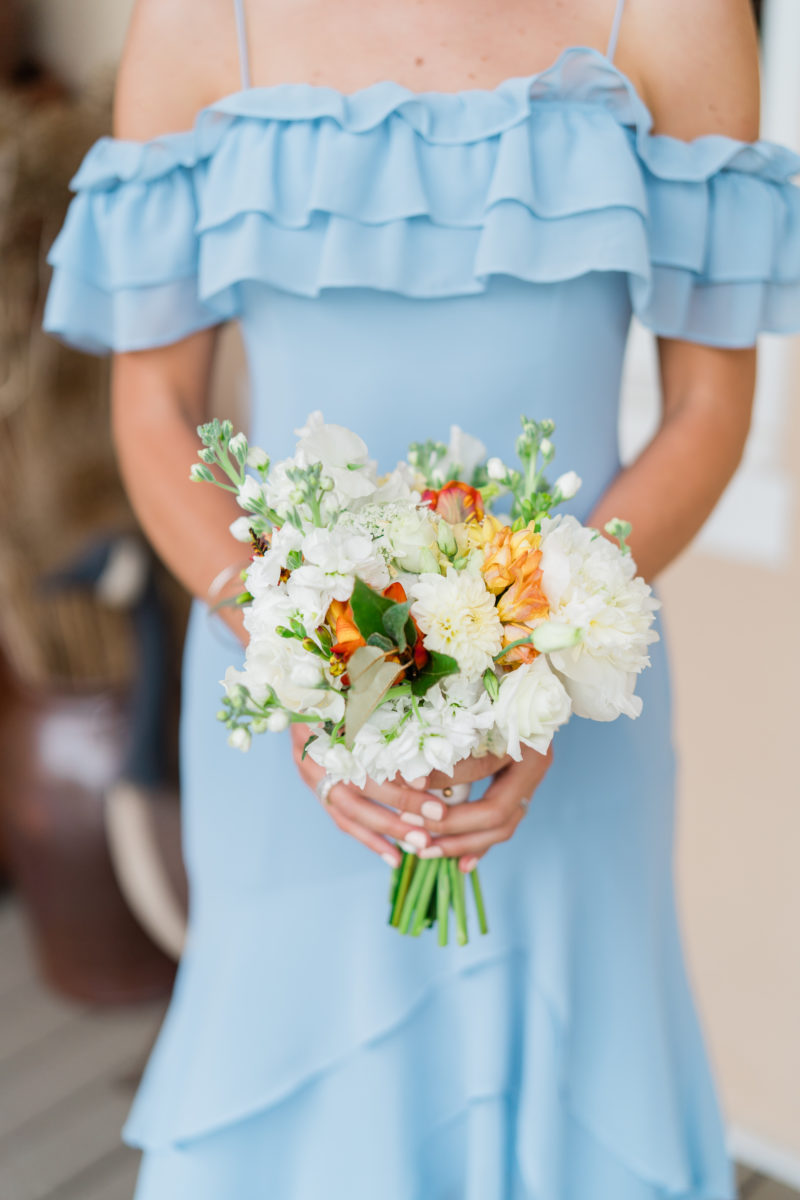 Riverside on the Potomac wedding- Bellwether Events - bridesmaid bouquet 3