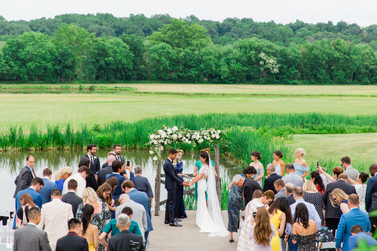 Riverside on the Potomac wedding- Bellwether Events - ceremony
