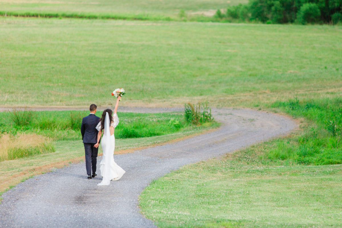 Riverside on the Potomac wedding- Bellwether Events - couple portrait 2
