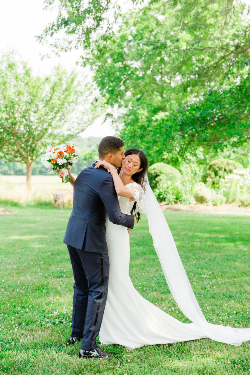 Riverside on the Potomac wedding- Bellwether Events - first look 2