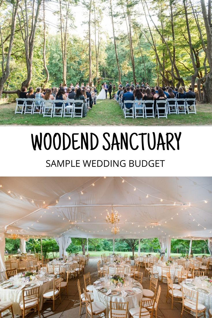 woodend sanctuary wedding cost