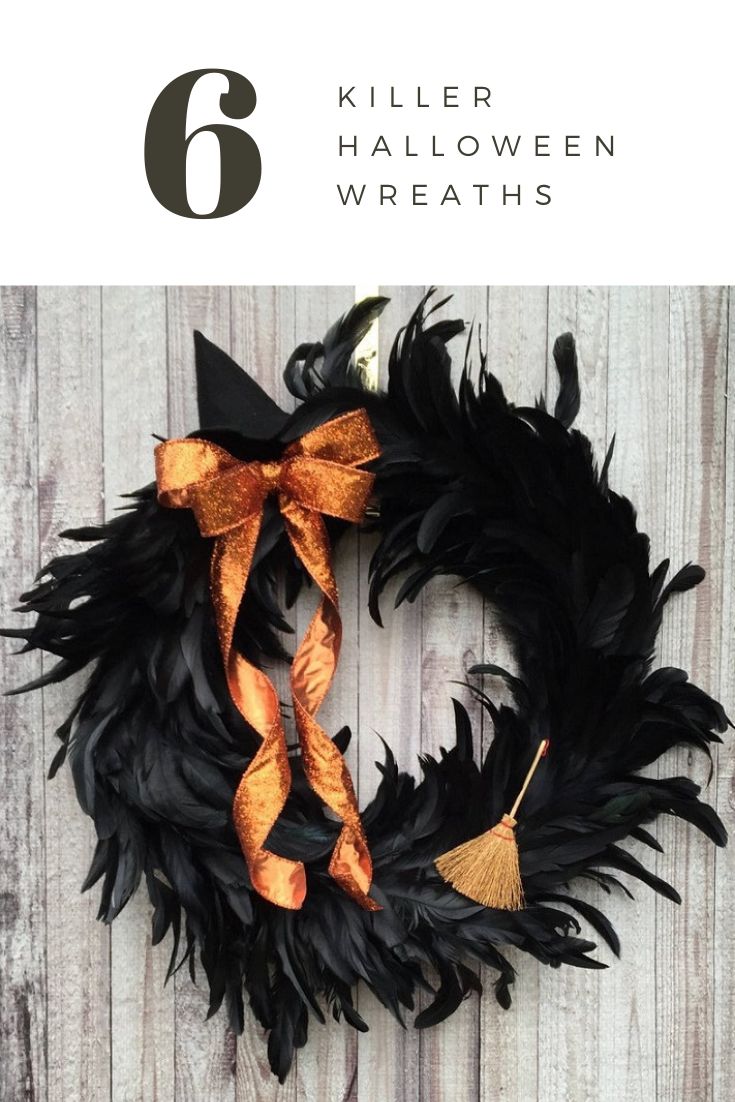 6 killer halloween wreath ideas